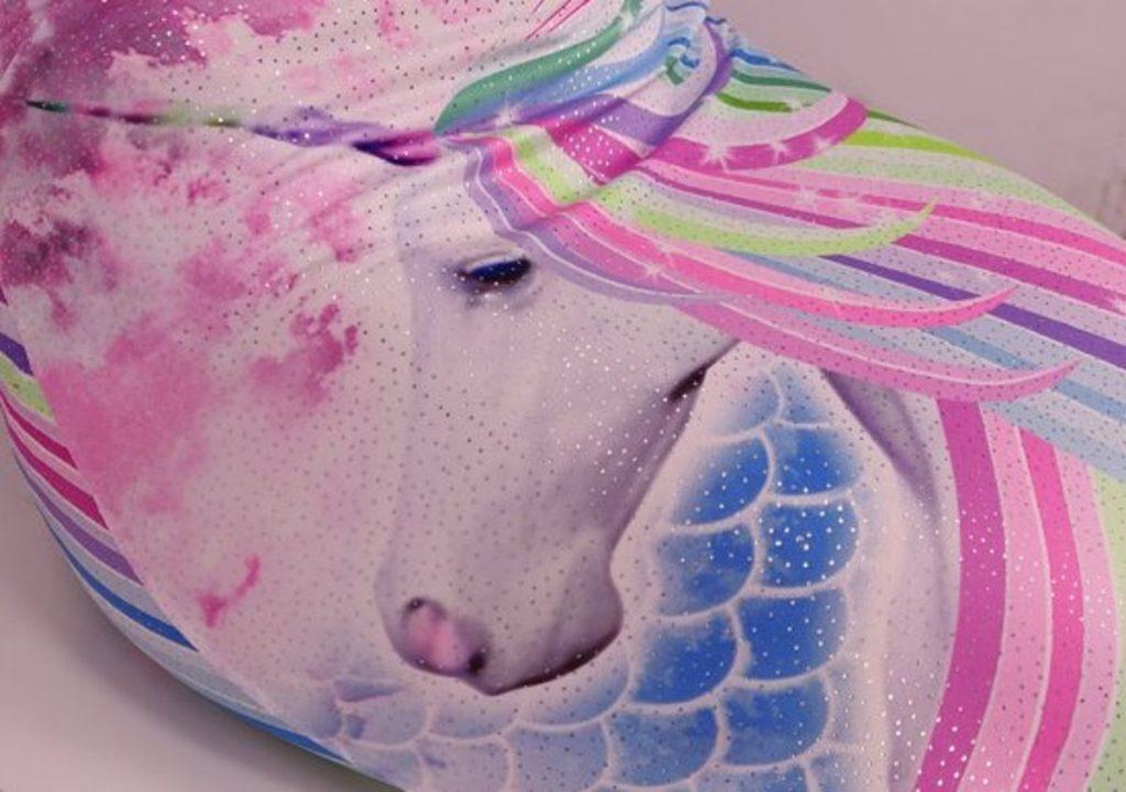unicorn glitter zeemeermin staart